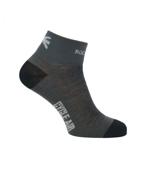 merino cycling socks mens grey - the sock mine (4)
