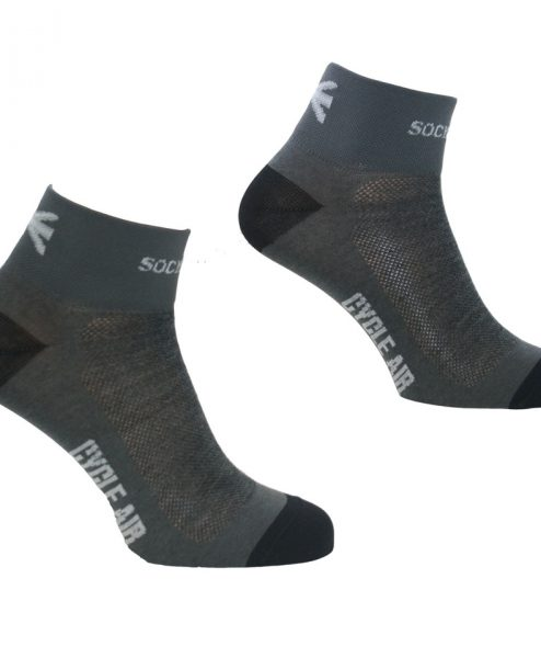 merino cycling socks mens grey - the sock mine (5)