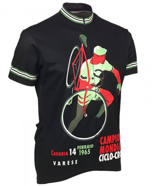 Retro Cycling Jersey Mens - 1965 Ciclo Cross - Retro Image Apparel