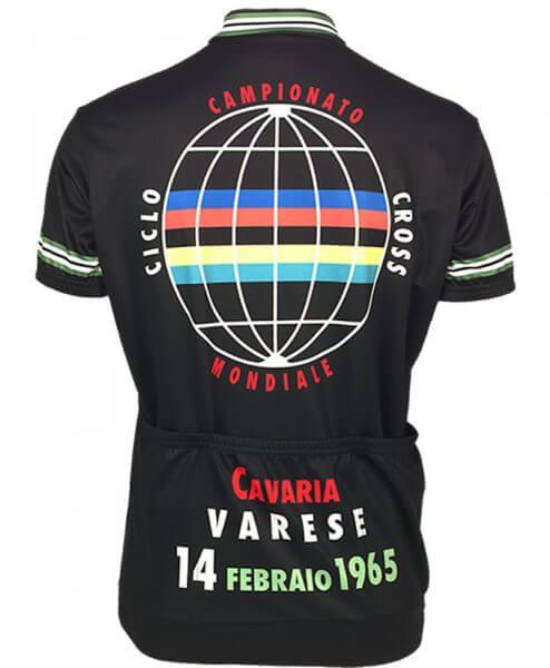 Retro Cycling Jersey Mens - 1965 Ciclo Cross - Retro Image Apparel - back