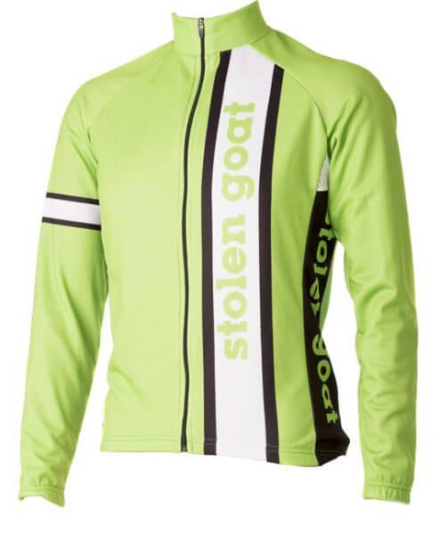 Team Green long sleeve Cycling Jersey - stolen goat