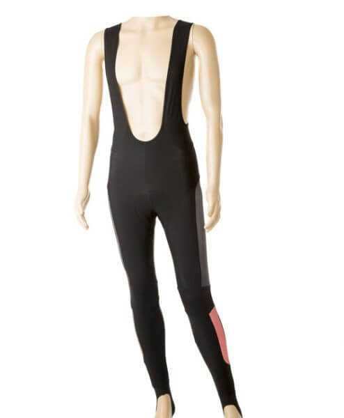 Orkaan Cycling Winter Bib Tights - stolen goat - red