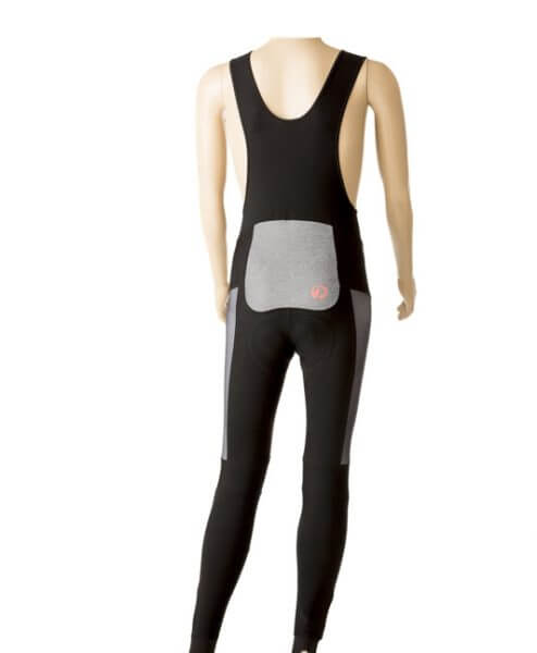 Orkaan Cycling Winter Bib Tights - stolen goat - red - back