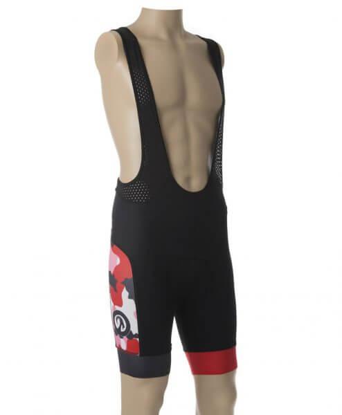 stolen goat bodyline shorts - camo red side 1