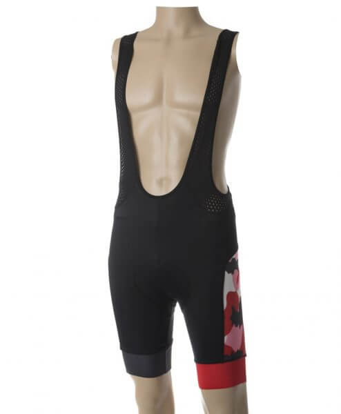 stolen goat bodyline shorts - camo red side 2