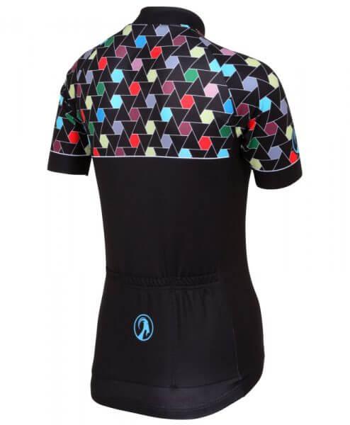 stolen goat Hexilation womens short sleeve cycling jersey back