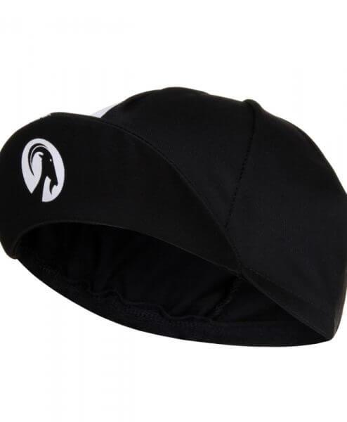cycling cap black bill