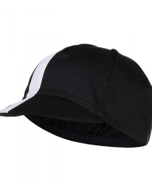 cycling cap black front