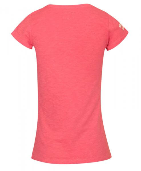 stolen goat ladies cycling pink tshirt queen of the mountains back