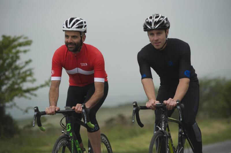 choosing the right cycling kit - best waterproof jersey