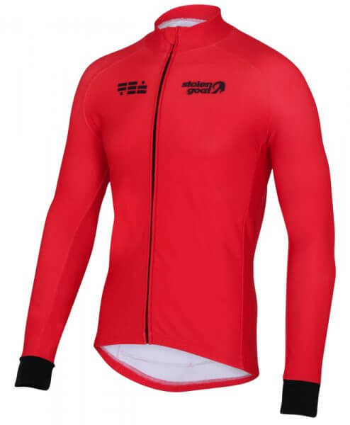 orkaan everyday jersey ls red front