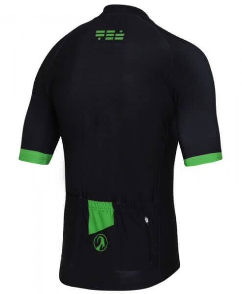 orkaan everyday jersey ss black green back
