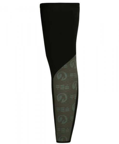 orkaan reflective waterproof leg warmers back